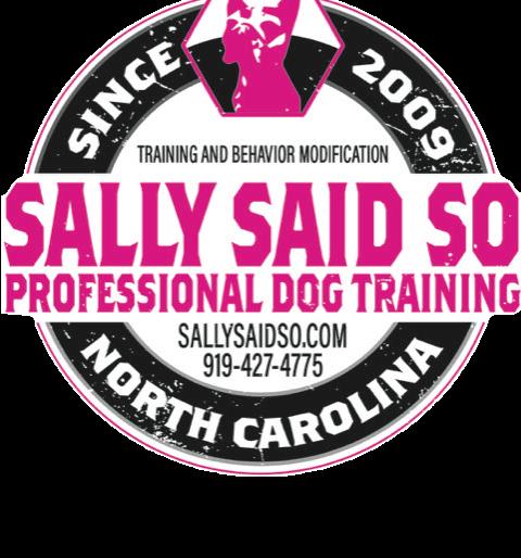 Raleigh NC Dog Training | Sally Said So Dog Trainers